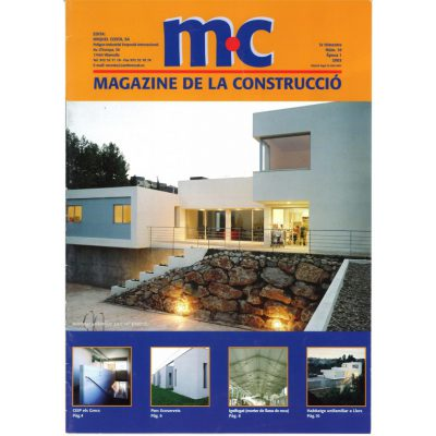 magazine de la construcció MC, any 2003